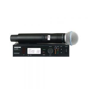 Радиосистема ULXD24 с микрофоном SHURE BETA 58/87A