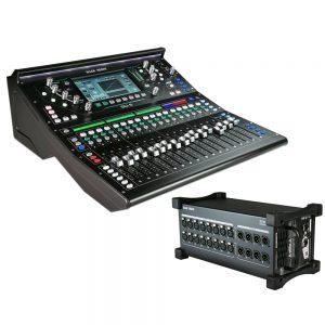 Цифровой микшер ALLEN&HEATH SQ-5 + Stage Box DX168