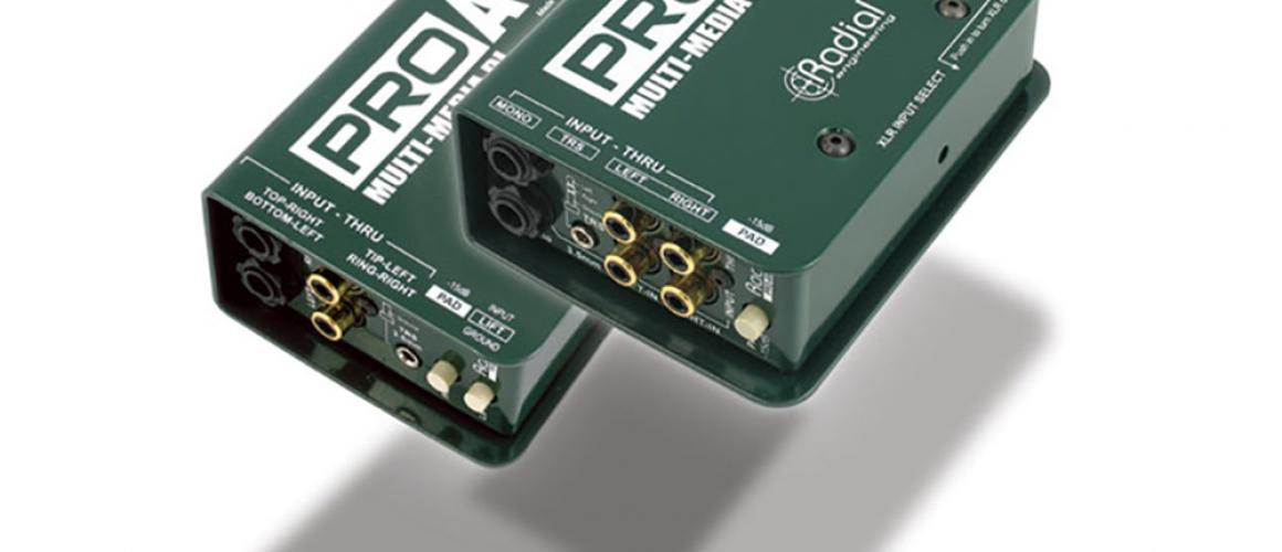 Di Box 2ch (multimedia) RADIAL PRO AV1