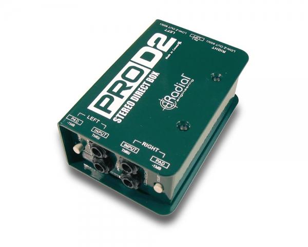 Di Box 2ch (passive) RADIAL PRO D2