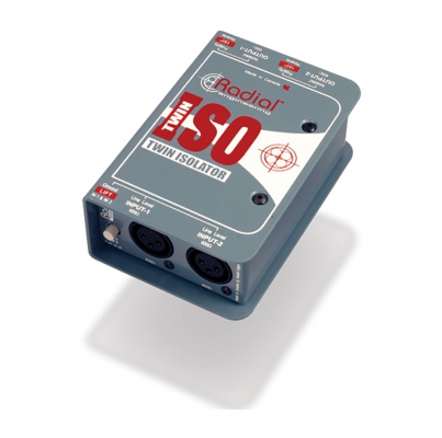 Di Box 2ch isolator XLR-XLR RADIAL TWIN ISO