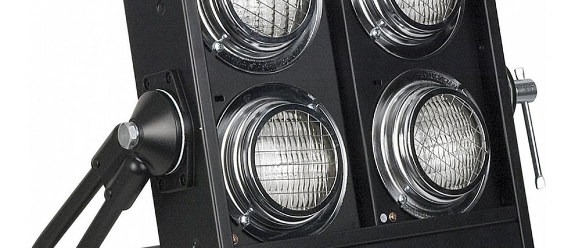 Блиндер активный со встроенным диммером (4 лампы) ShowTec Stage Blinder 4 DMX
