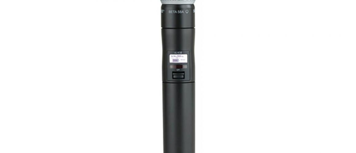 Ручной передатчик Shure с капсюлем Beta 58